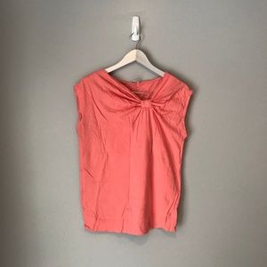 Calvin Klein Coral Short Sleeved Top